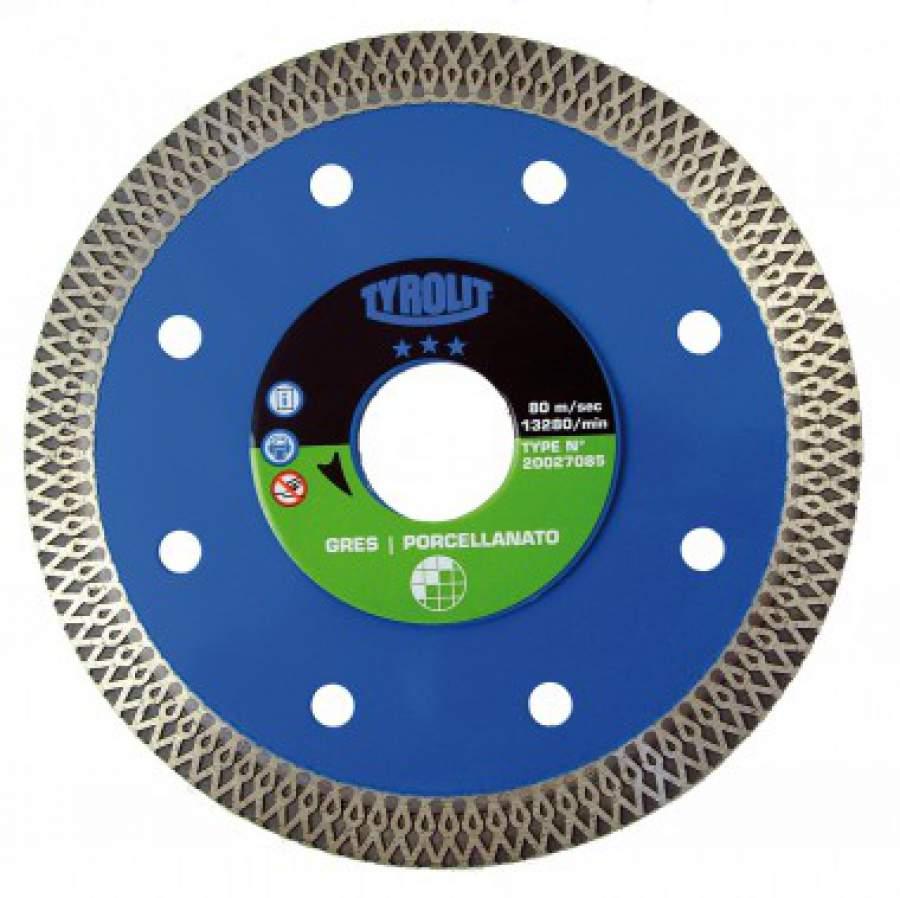 Diamantschijf 125 mm voor tegels dct kestens gereedschappen - Disco taglio piastrelle ...